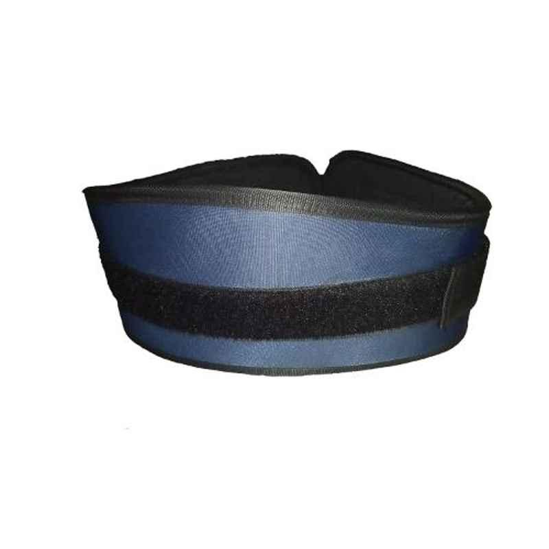 Arnav 6 inch Non Leather Back Support Weight Lifting Gym Belt, Size: L