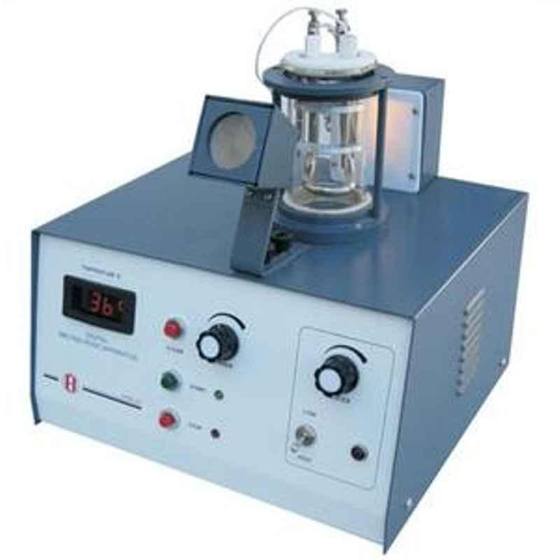 Electronics India 935 (12 mm long, 0.8 - 1.1 mm internal diameter) Digital Melting Point Apparatus