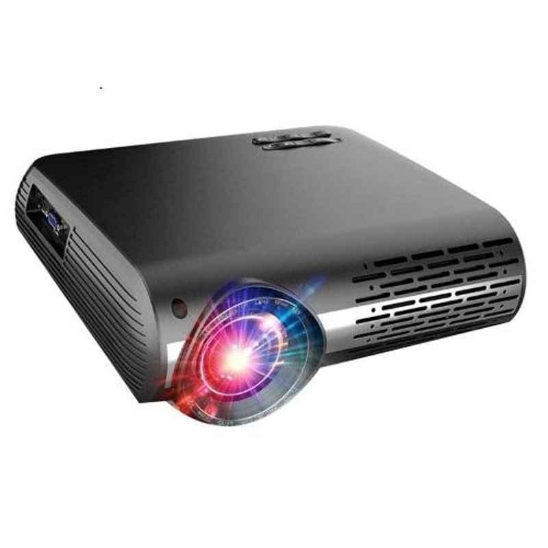 Myra Q2 1080P 5200 Lumen LED Video Projector Support with 4K Video Zoom Function