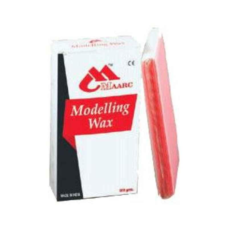 Maarc 12 Sheets Type 3 Pink Modelling Hard Wax, 2010/012