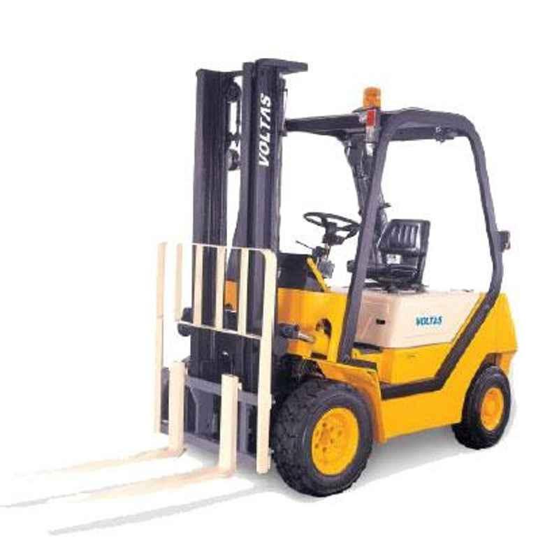 Voltas 2500kg 3 Stage Diesel Powered Forklift, DVX 25 FC BC HVT 2600