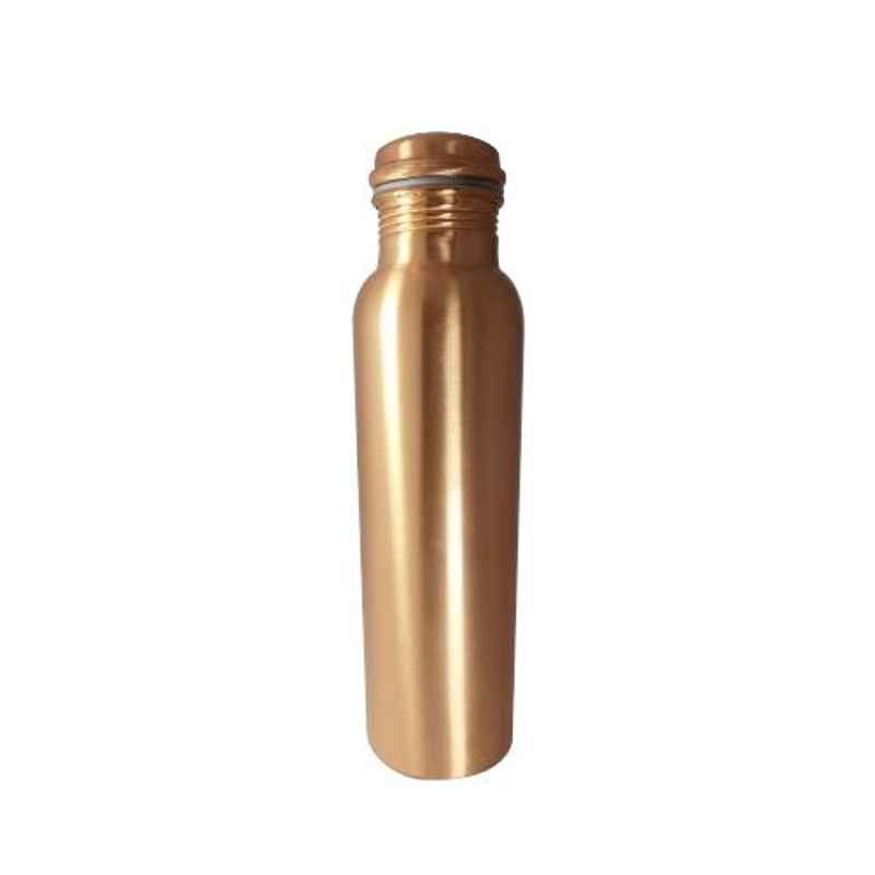Healthchoice 750ml Copper Plain Water Bottle