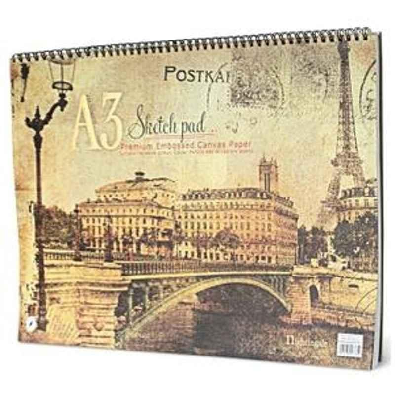 Nightingale Premium Sketch Pad A3 40 Pages 8901049 077850