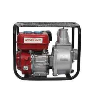 Neptune 6.5HP 196cc 4 Stroke Red Petrol Start Kerosene Run Water Pump Set, WPK-30
