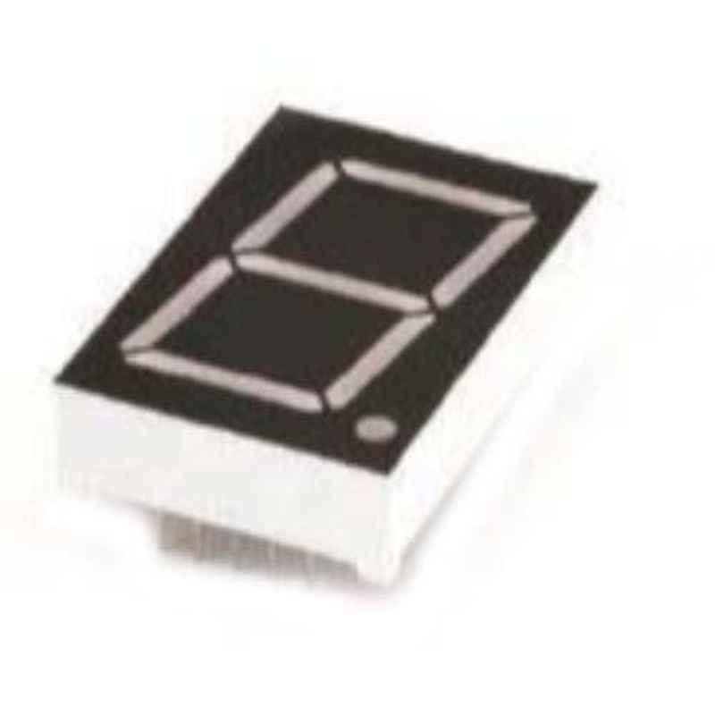 Oasistek 100 Pcs 1 inch Ultra Yellow Single Digit Display Module Set, TOS-1102