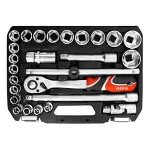Yato 26 Pcs 1/2 inch Drive Socket Set, YT-38752