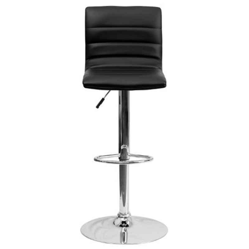 Steel Craft KBSTB12 Black Leatherette Upholstery Seat Bar Stool