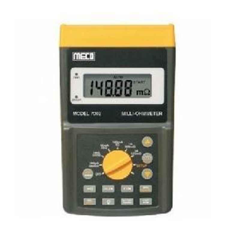 Metravi 7272 Digital Micro Ohm Meter 1 μΩ to 6 KΩ
