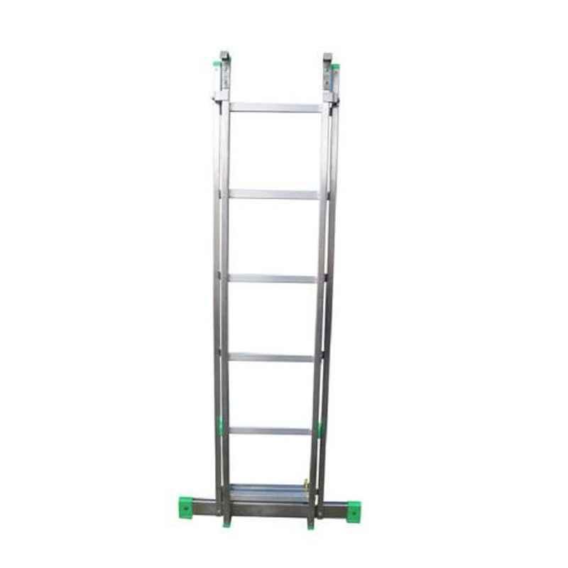 Aguerri 0332 14kg 9 Steps Aluminium Extensible Wall Support Ladder