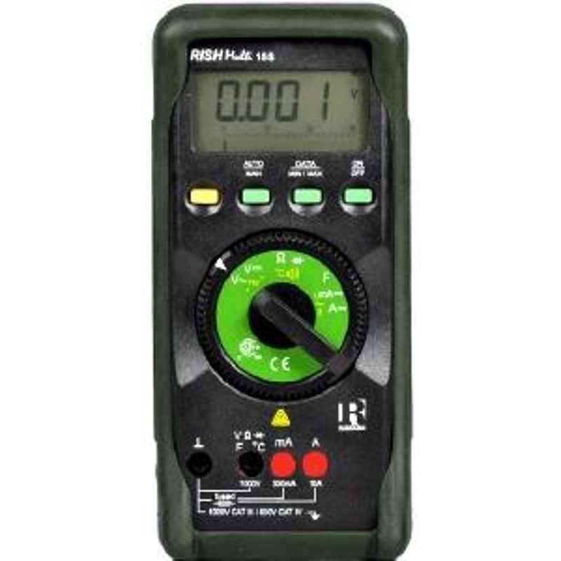 Rishabh multi 15S Digital Multimeter AC Volt 1mV to 1000V