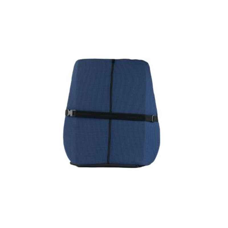Xamax Pro V Blue Backrest with Extra Seating Cushion, BTT300-BLU