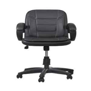 Regent Fabric & Metal Black Chair, RSC-526