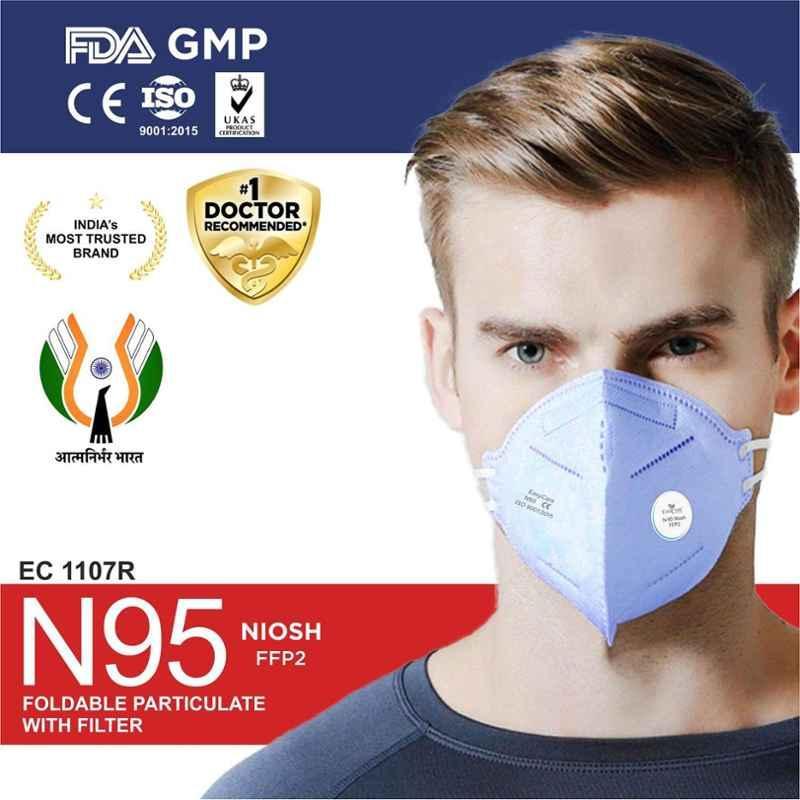 Easycare 7 Layer N95 Unisex Mask, EC1107R