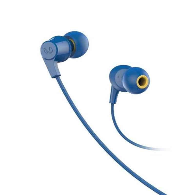 Infinity by Harman Wynd 300 Blue Pure Bass in Ear Headphone with Mic, INFWYD300BLU
