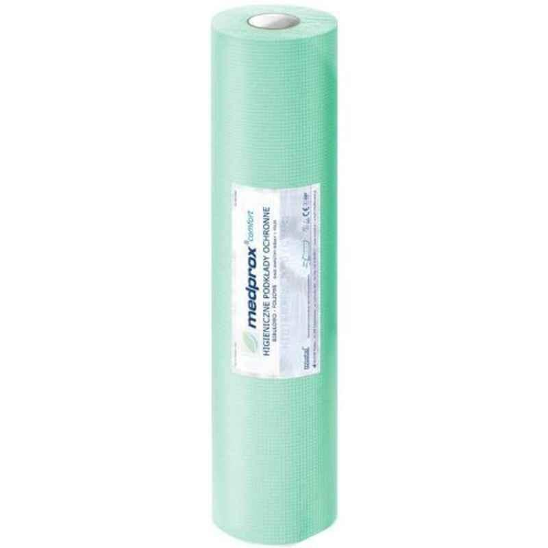 KosmoCare Hygiene 15x20 inch Green Protective Sheet Roll, IXMPS3850G