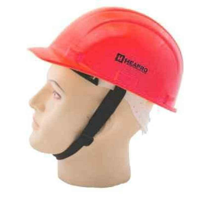 Heapro Red Ratchet Type Safety Helmet, VR-0011 (Pack of 20)