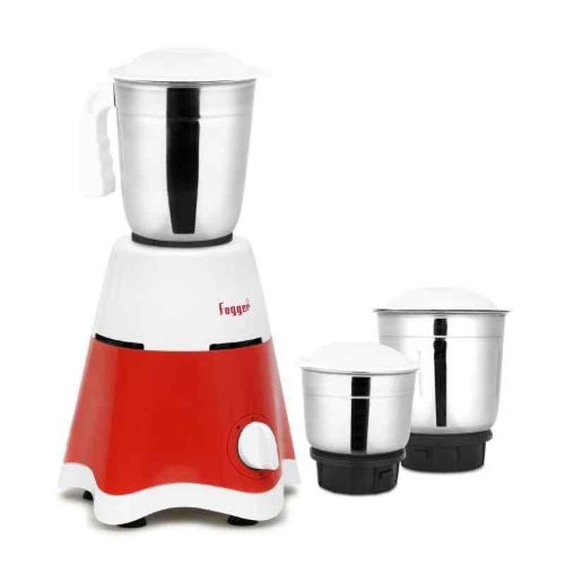 Fogger 500W White Mixer Grinder with 3 Jars, SBI00006