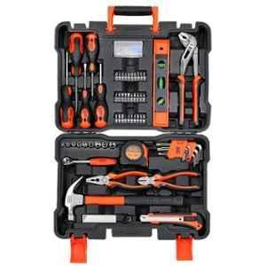 Black+Decker 154 Pieces Orange & Black Hand Tool Kit, BMT154C