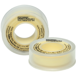 Holdtite Plus 12mmx10m PTFE Thread Type Seal Tape (Pack of 500)