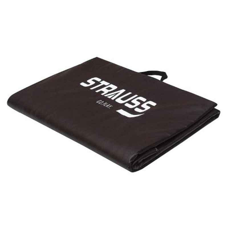 Strauss 68x24 inch 12mm Brown Foldable Yoga Mat, ST-1621