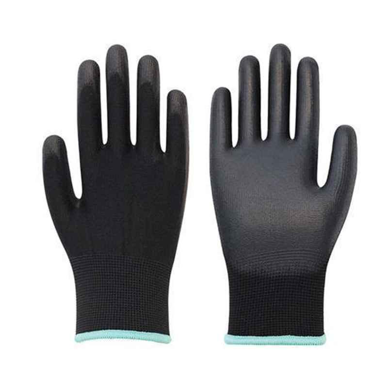 SSWW Black PU Coated Hand Gloves