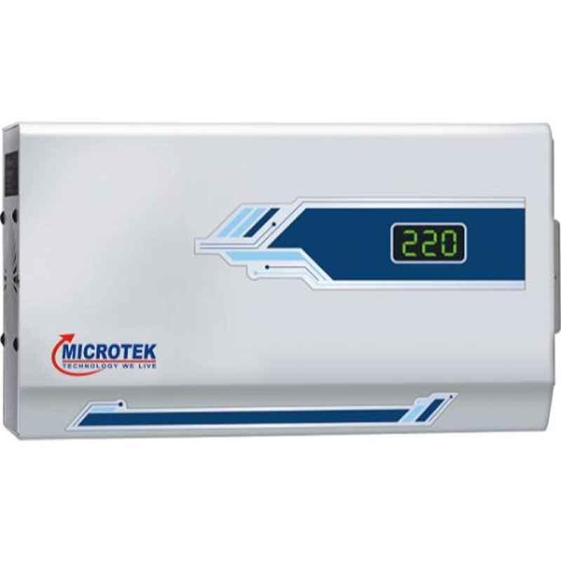 Microtek Pearl EM 4130 Plus 130-300V AC Voltage Stabilizer for Upto 1.5 Ton AC
