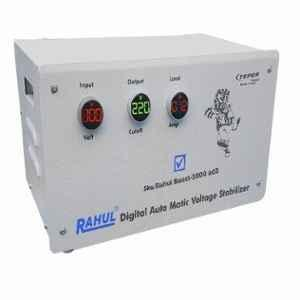 Rahul Boost 3000AD3 100-280V 3kVA Single Phase Digital Automatic Voltage Stabilizer