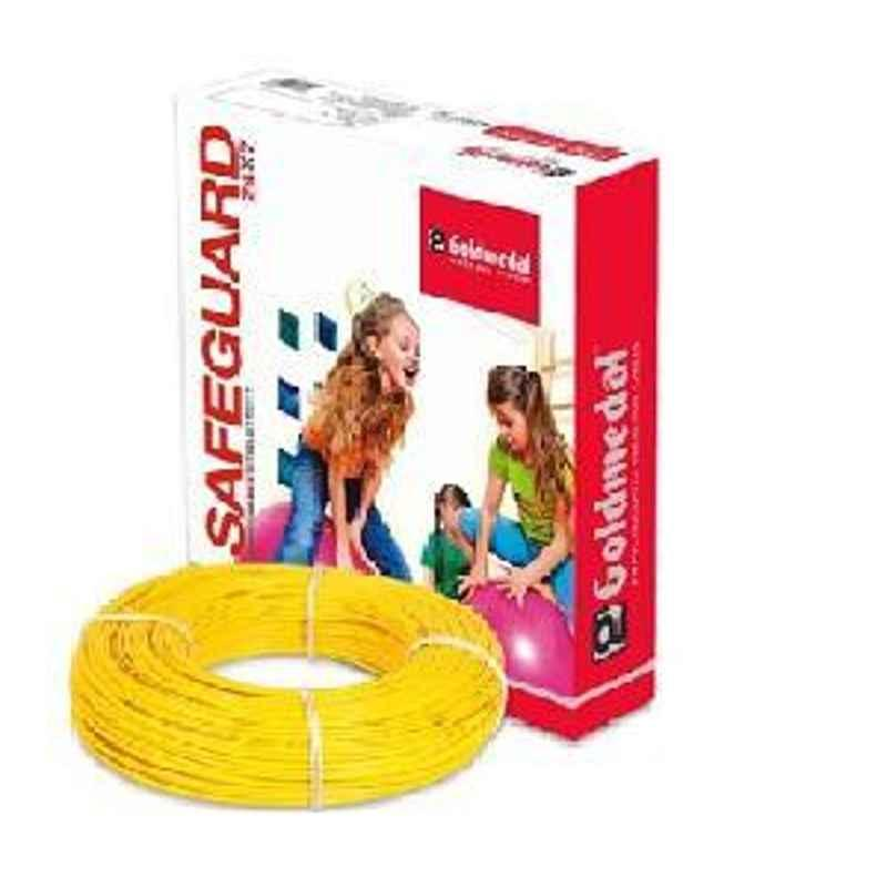 Goldmedal PVC Wire 06123YELO 1100V