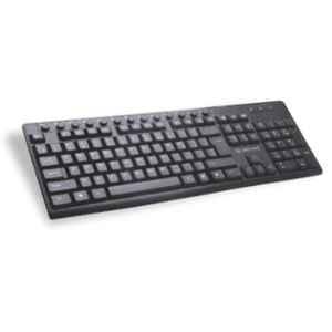 Lapcare 400g Black multimedia Wired Keyboard, LKKBMU6289