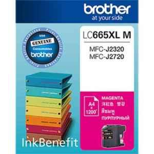 Brother LC 665XLM Magenta Ink Cartridge