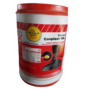 Fosroc 20L Conplast WL Integral Waterproofing Liquid for Concrete & Mortar