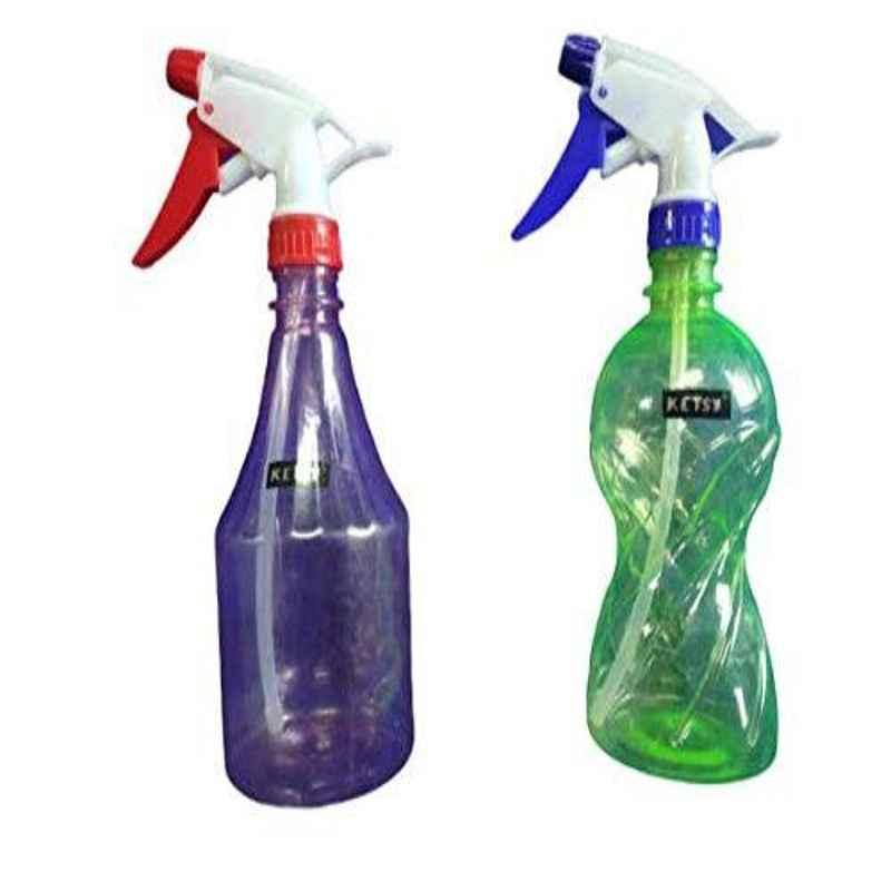 Ketsy 2 Pcs 1/2L Spray Bottle Set, 814