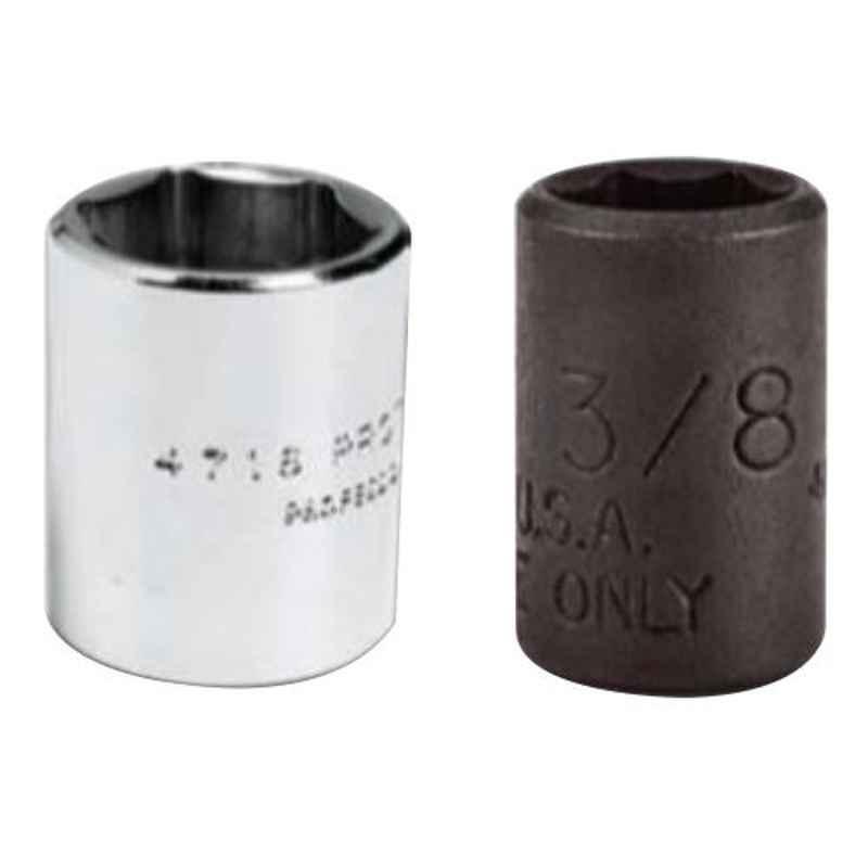 Proto 9mm 6 Point Full Polish 1/4 inch Drive Socket, J4709M