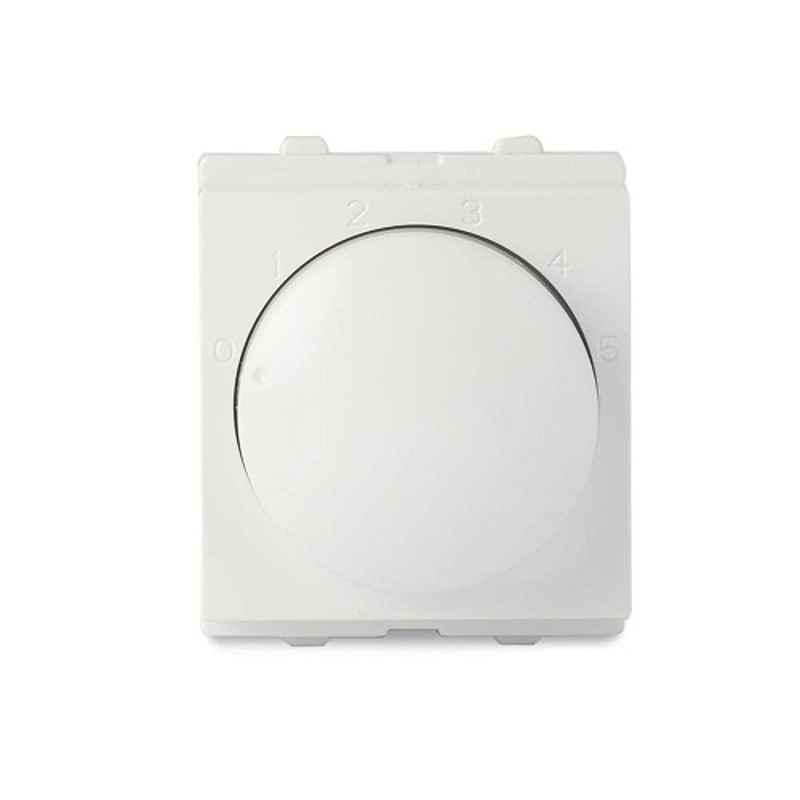 Schneider Opale 2 Module White Step Type Fan Regulator, X3200WH (Pack of 5)