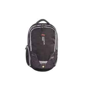 Adventure Worx Caper 24L Polyester Grey Laptop Backpack with AWT Technology