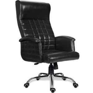MRC Antilia Chromium Steel Black High Back Revolving Chair