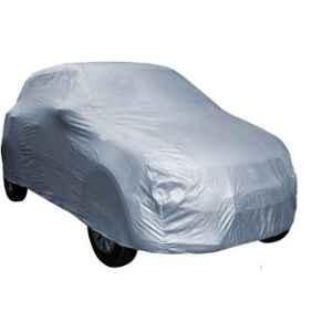 Love4Ride Silver Car Cover for Maruti Suzuki Alto 800