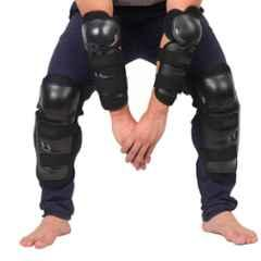 Love4ride Black Riding Knee & Elbow Guard Set