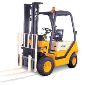 Voltas 3000kg 3 Stage Diesel Powered Forklift, DVX 30 FC BC HVT 2125