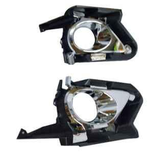 Accurate 2 Pcs Front Bumber Fog Light Cover Set for Toyota Innova Crysta, FLC-CRY1