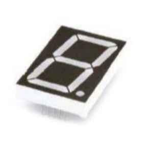Oasistek 100 Pcs 1.2 inch Ultra Yellow Single Digit Display Module Set, TOS-12101