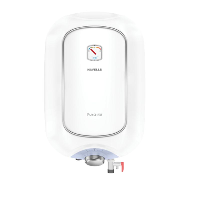 Havells Puro DX 25L 2000W White & Blue Storage Water Heater, GHWAPDTWB025