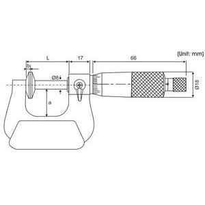 Yamayo 175-200mm Disc Micrometer