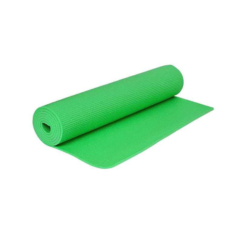Strauss 1730x610x6mm Green PVC Yoga Mat with Cover, ST-1404