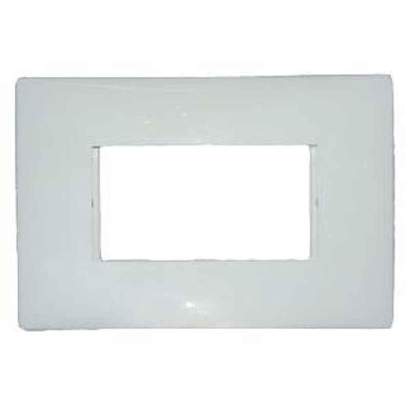 Legrand Mylinc 3 Module Cover Plate Silver Alu - 6763 82