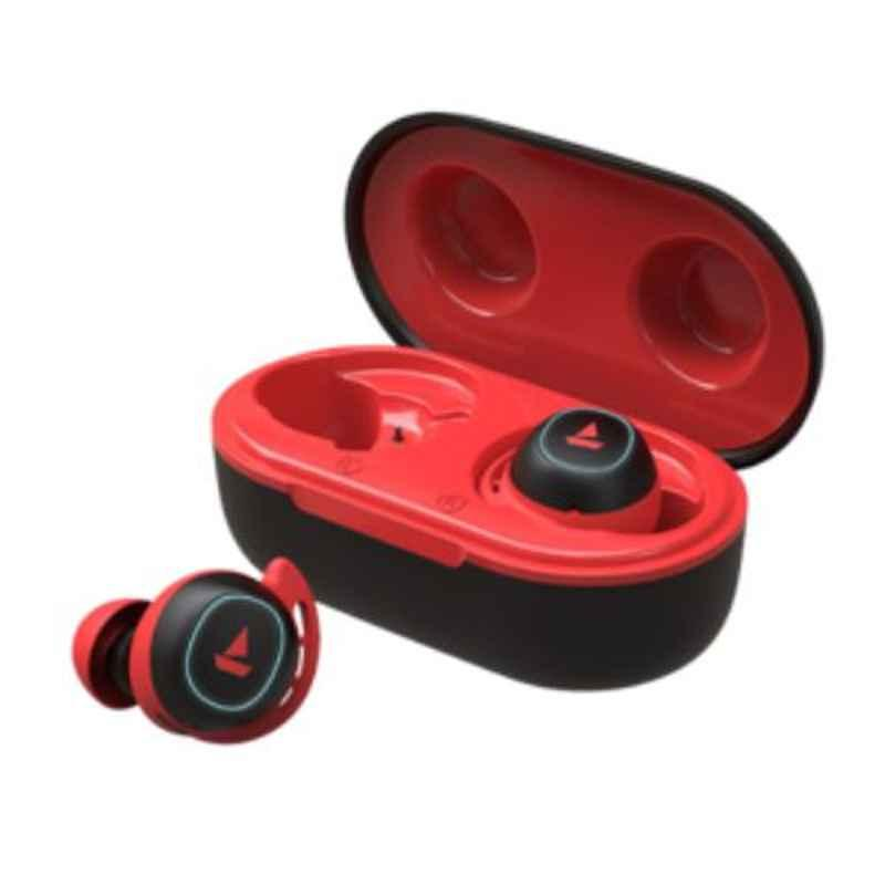 boAt Airdopes 441 Red Bluetooth Earbuds with Mic