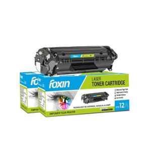 Foxin FTC-12A Black Toner Cartridge