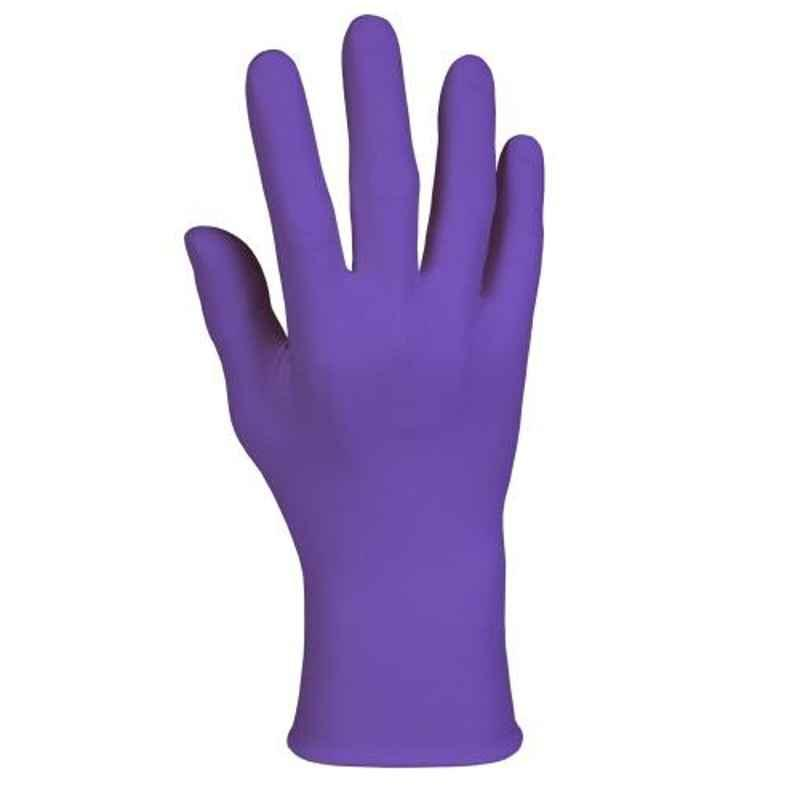 Kimberly-Clark 100 Pcs 9.5 Inch 5.9 mil Small Purple Nitrile Exam Gloves Box, 55081 (Pack Of 10)