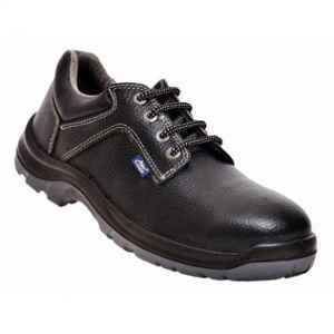 Allen Cooper AC-1284 Antistatic Steel Toe Black Safety Shoes, Size: 8