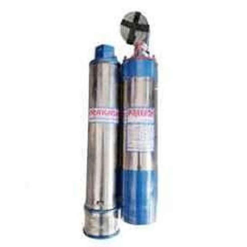 Prakash 1.5HP 12 Stage Oil Filled Submersible Pump with Control Panel
